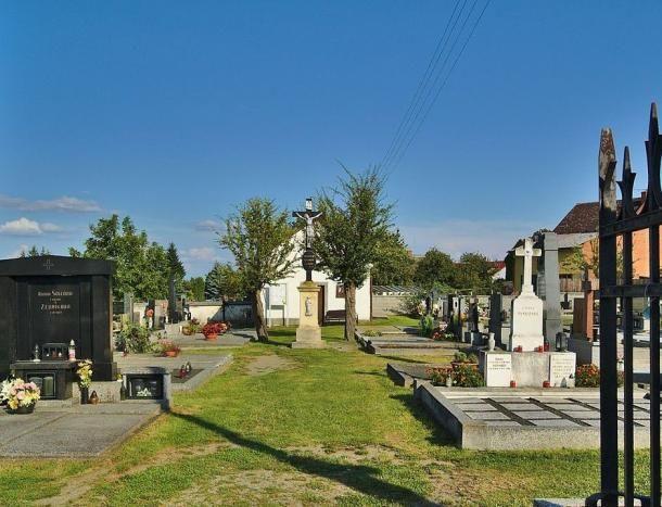 chudobínský hřbitov