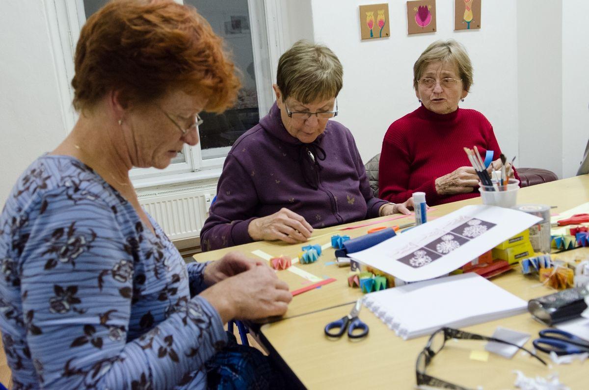 Výtvarná dílna v Centru foto Jana Maršálková