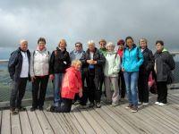 10 Dolní Morava 2017 -na vrcholu stezky v oblacích